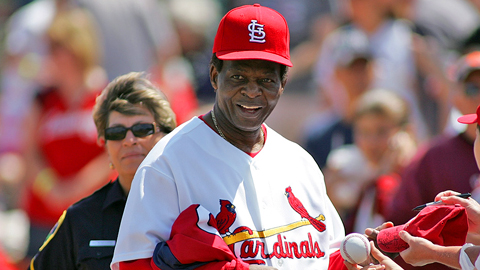 Lou Brock will slow down to meet and greet fans at the Bricktown Ballpark.