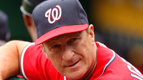 Riggleman stepped down as skipper of the Washington Nationals in June 2011.