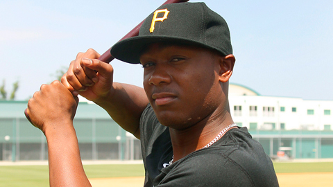 Josh Bell was taken by the Pirates in the second round of the 2011 Draft.