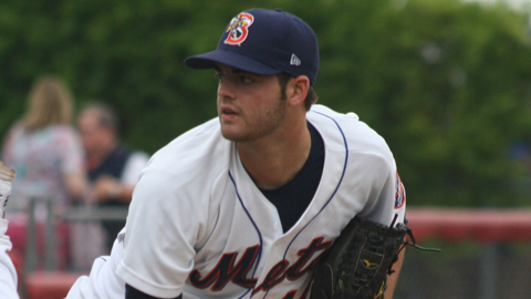 Cory Mazzoni has compiled a 3.48 ERA through five Double-A appearances.