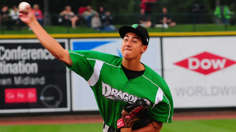 Robert Stephenson was clocked as high as 101 mph on the stadium radar gun.
